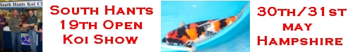 South Hants 19th Open Koi Show - 30th/31st May
